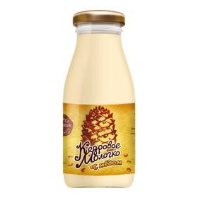 Молочко кедровое САВА с медом 0,2 л.