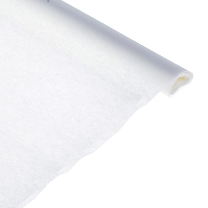 Бумага поделочная креповая белая 0,50*2,5м