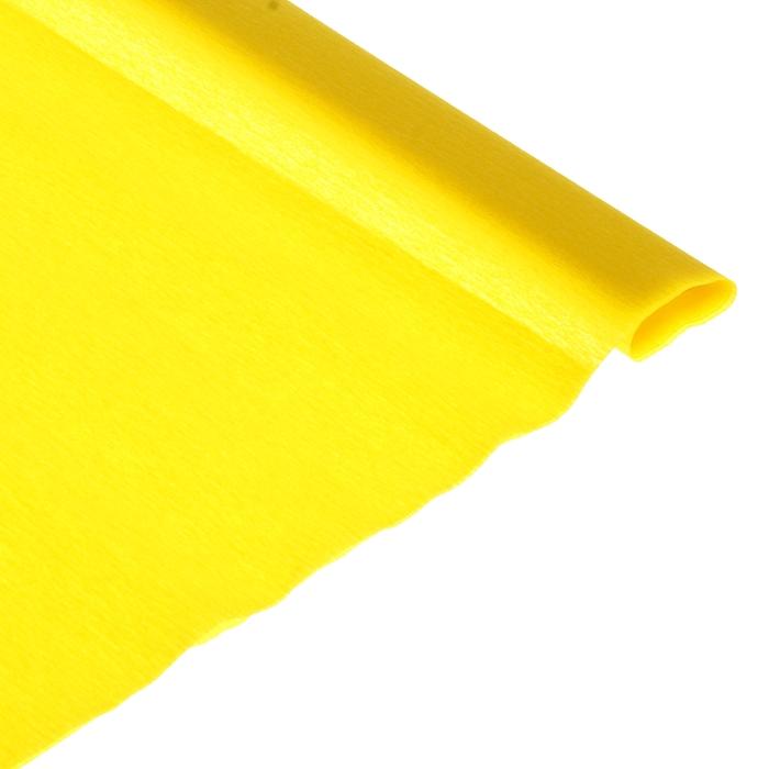 Бумага крепированная 50*250см Herlitz желтая 0253021
