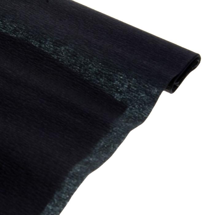 Бумага поделочная креповая черная 0,50*2,5м