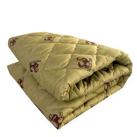 Одеяло Овечья шерсть 140х205 см 300 гр, пэ, чемодан