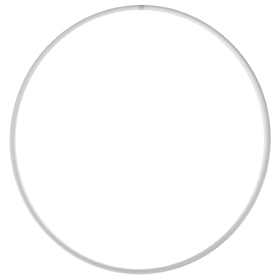 Professional Hoop (arc 18mm), d=80cm, colour white