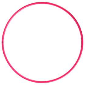 Professional Hoop (arc 18mm), d=80cm, color raspberry