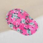 "Cap for dolls ""Flowers"" the color pink"