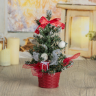 Tree table decor 20*12.5 cm bow peas