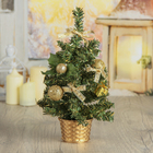 Tree decor table 25*15 cm Golden bow