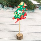 "Christmas decoration on a stick ""Magical New year"""
