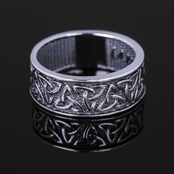 Кольцо ''Айвар'', размер 19, цвет чернёное серебро 3816199
