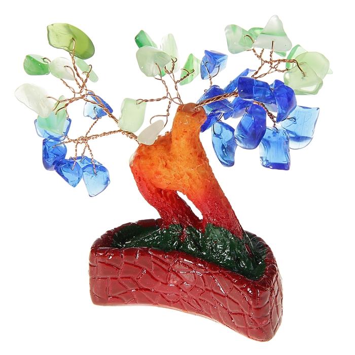 "Денежное дерево ""Весенний сад. Месяц"""