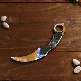 Сувенирное оружие из дерева «Керамбит, закалка»