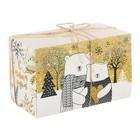 Коробка для капкейка «Согрей любовью», 8 × 16 × 10 см