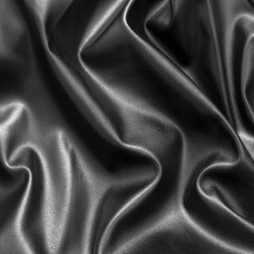 Кожа искусственная, гладкокрашенная, ширина 150 см, чёрный