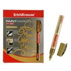Маркер-краска (лаковый) 2.5 мм Erich Krause PT-350, золотой