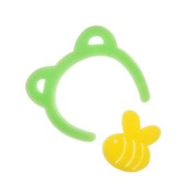Игровой набор для купания детский «Мишутка», губка - мочалка, 2 шт.