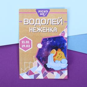 """Брошь знаки зодиака """"Водолей"""" в Донецке"""
