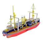 Конструктор 3D «Классический корабль», 73 детали - фото 105594835