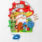 Бизиборд-мини «Грибочек», 20 × 23 см - фото 76250015