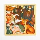 """Развивающий пазл-головоломка """"Домашние животные"""", вид упаковки: термоусадочная плёнка"""