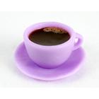 """Силиконовая форма для мыла """"Чашка с блюдцем мини"""""""