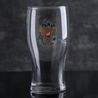 """Бокал для пива 500 мл """"Герб России"""""""