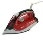Утюг Sinbo SSI 6611, 2200 Вт, тефлоновая подошва, подача пара, красный