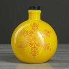 """Штоф """"Новогодний шар"""" желтый 0,5 л"""