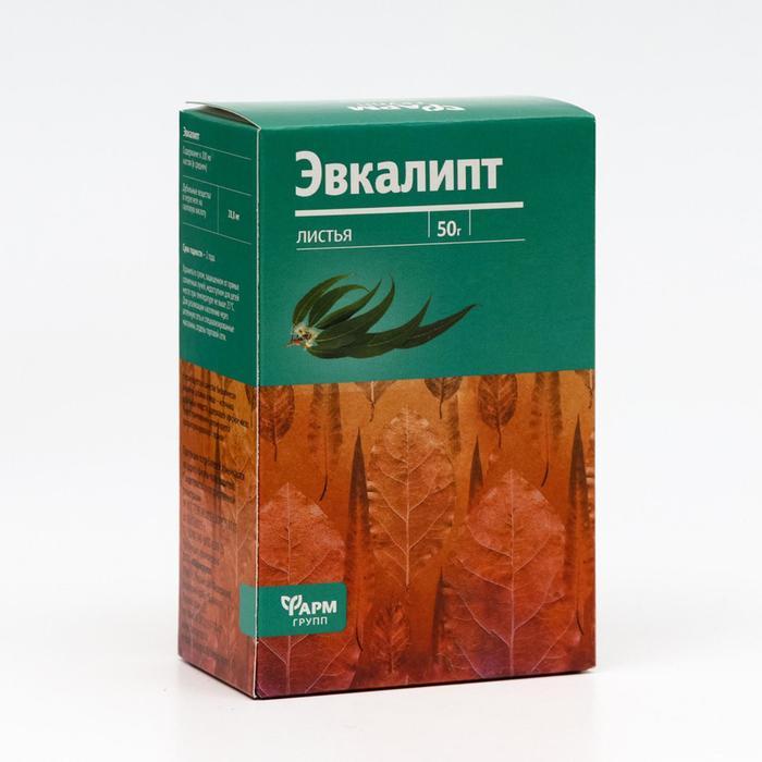 Фиточай эвкалипт, россыпью в пачке, 50 г