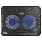 """Подставка для ноутбука Buro BU-LCP156-B214 15.6"""" 1xUSB 2x 140ммFAN черная"""