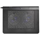 """Подставка для ноутбука Buro BU-LCP170-B214 17"""" 2xUSB 2x 140ммFAN черная"""