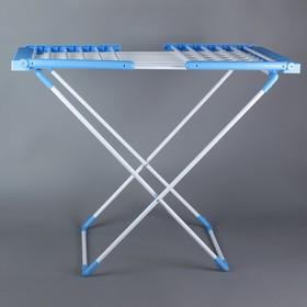 Сушилка для белья напольная, металлическая окрашенная 147х60х100 см, 18 м