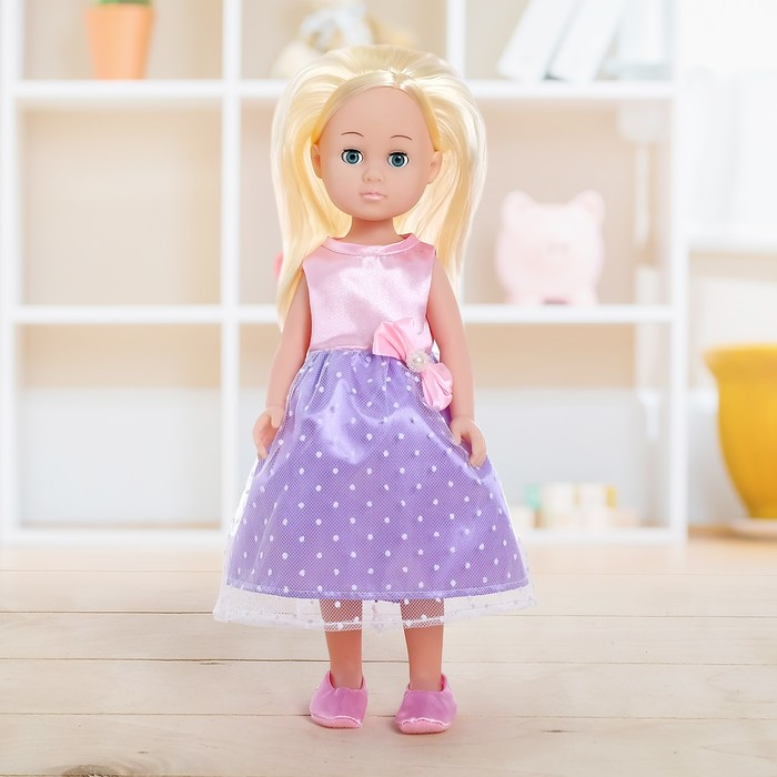 Кукла «Арина» в платье, с аксессуаром, МИКС