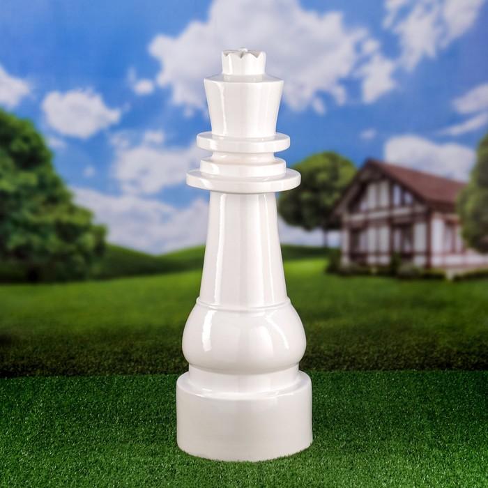 """Садовая фигура """"Королева"""", цвет белый, 65 см"""