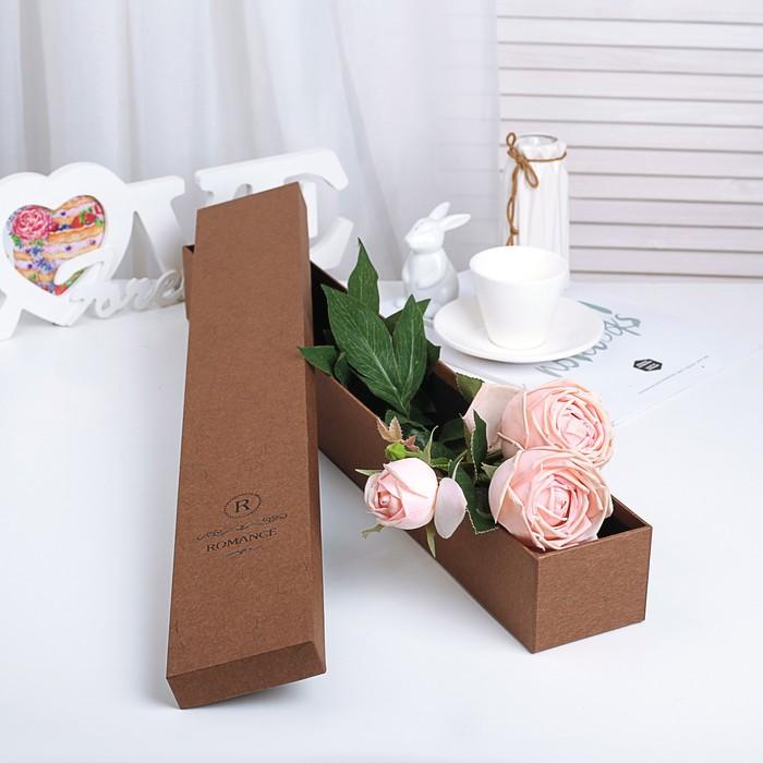 Коробка подарочная 60 х 9 х 7 см - фото 8877431