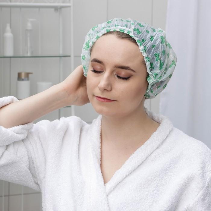 Набор шапочек для душа, 12 шт, цвета МИКС
