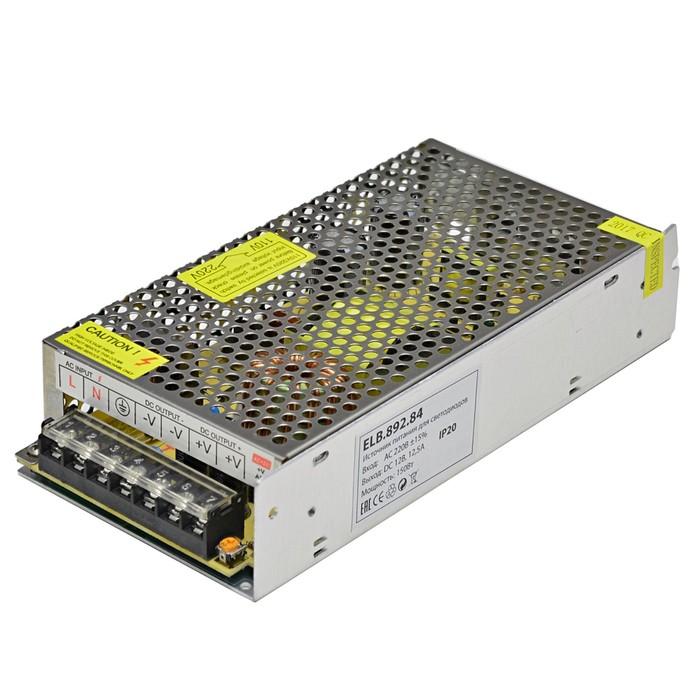 Блок питания DC, 12 В, 150Вт, IP20