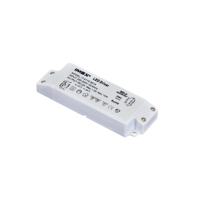 Блок питания DC, 12 В, 15Вт, IP20