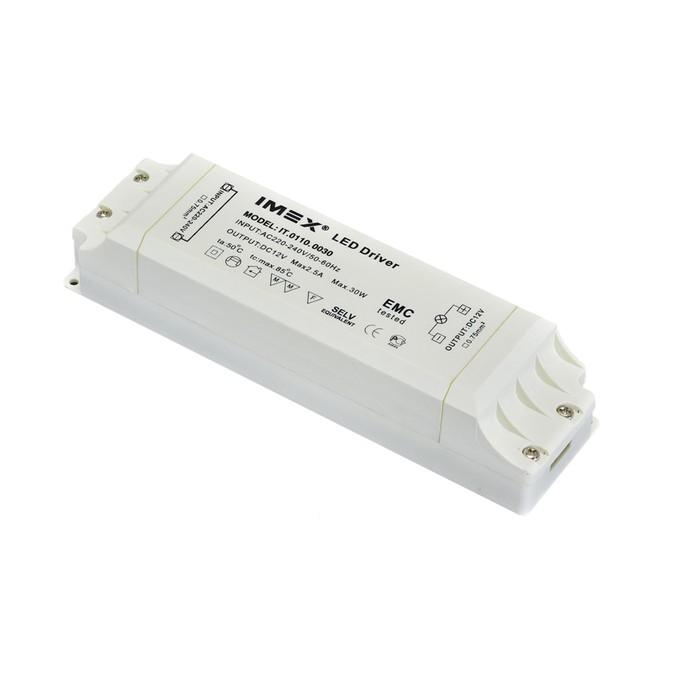 Блок питания DC, 12 В, 30Вт, IP20