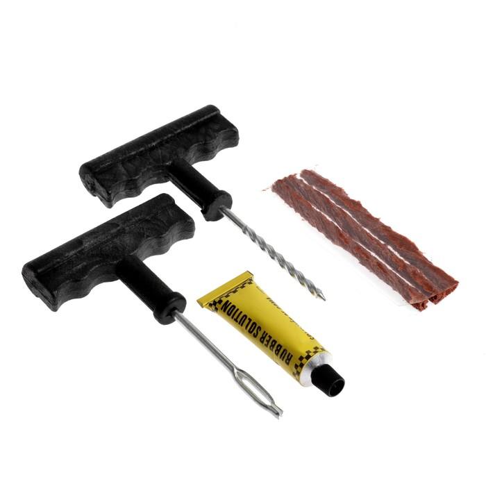 Набор для ремонта бескамерных шин, 4 предмета, N01