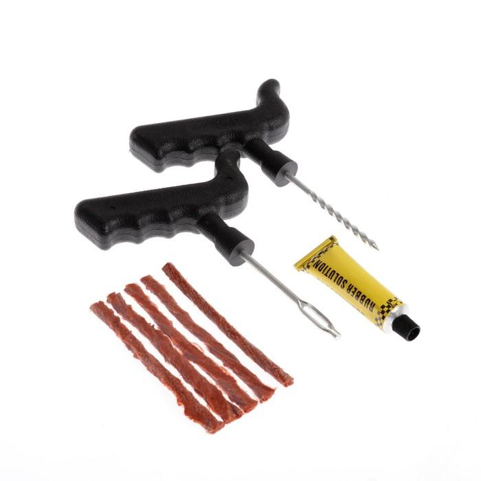 Набор для ремонта бескамерных шин, 4 предмета, N02