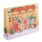 Пакет ламинированный горизонтальный «Зимние радости», L 31 × 40 × 9 см