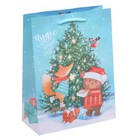 Пакет ламинированный вертикальный «Чудес в Новом Году», L 31 × 40 × 9 см