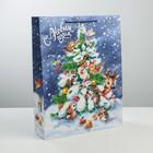 Пакет ламинированный вертикальный «Весёлого Нового Года», L 31 × 40 × 9 см