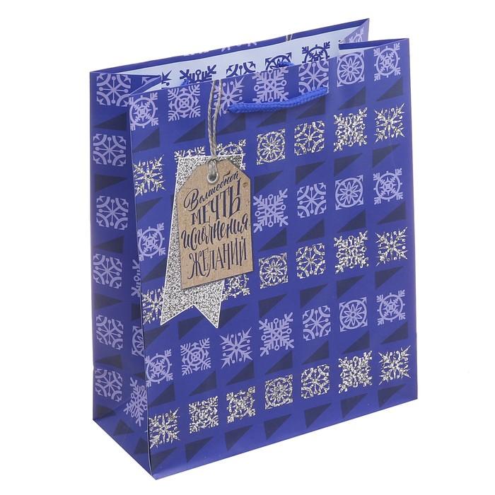 Пакет ламинированный вертикальный «Волшебной мечты», 23 × 27 × 8 см