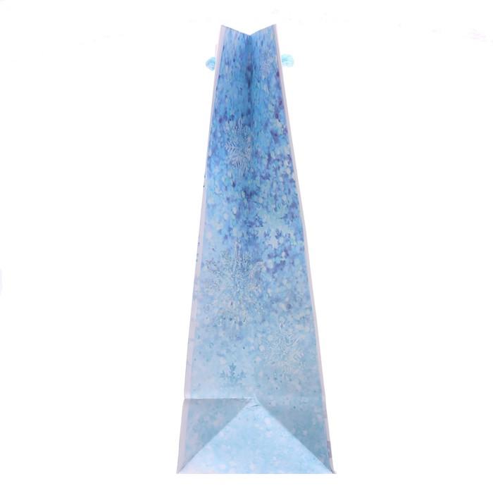 Пакет ламинированный вертикальный «Счастье внутри», 23 × 27 × 8 см