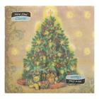 """Салфетки бумажные Classic """"Новогодняя ель"""", 1 слой, 33*33 см, 50 листов"""