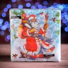 """Салфетки бумажные Classic """"Дед мороз"""", 1 слой, 33*33 см, 50 листов"""
