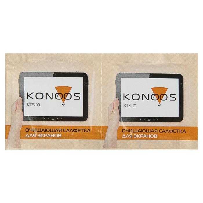 Чистящие салфетки для ЖК-экранов Konoos KTS-10 10 шт в инд.упаковке