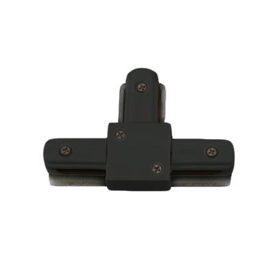 Соединитель  «Т»  двухпроводной шины, 220 В, цвет черный