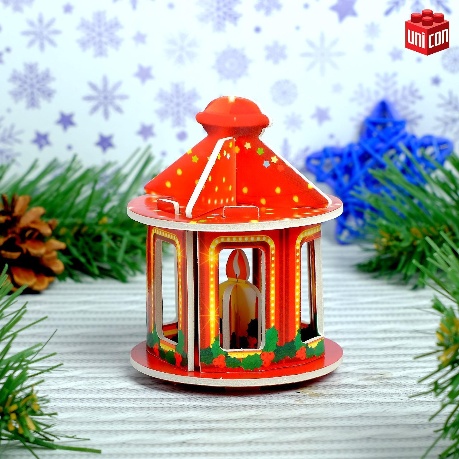 3D Конструктор фигурки «Новогодний фонарик» (3564571) - Купить по ... 1589212ecff
