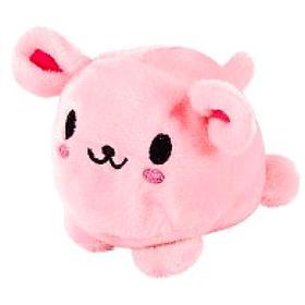 Мягкая игрушка «Мячик-розовый кролик», 7см
